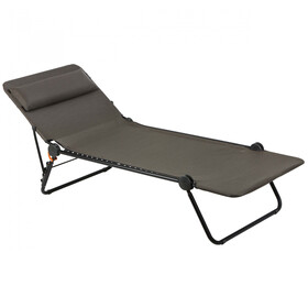 Lafuma Mobilier Sunside Lounger Batyline Duo, wood